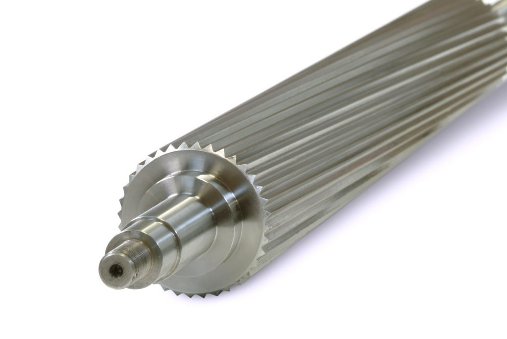 The spiral infeed roller