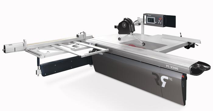 Abschuss neue Formatkreissäge PS3200 X-3
