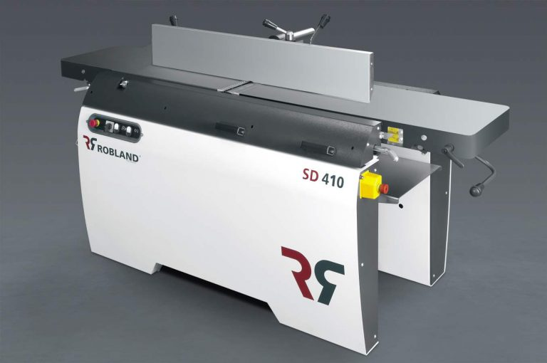New industrial planer-thicknesser SD410